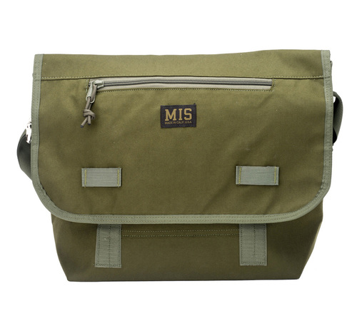 ■MIS(エムアイエス)■Messenger Bag - Olive Drab■MADE IN CALIFORNIA■送料無料
