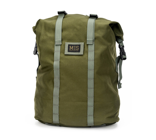 ■MIS(エムアイエス)■ ROLL UP BACKPACK- Olive Drab■MADE IN CALIFORNIA■送料無料