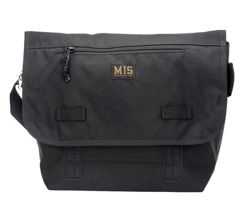 ■MIS(エムアイエス)■Messenger Bag - BLACK■MADE IN CALIFORNIA■送料無料