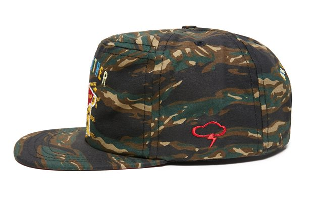 The Ampal Creative アンパルクリエイティブSOUVENIR Strap Back Cap ストラップバックキャップ Badweather Colab Unstr Fit Tiger Camo アメリカ製q3RjAL45