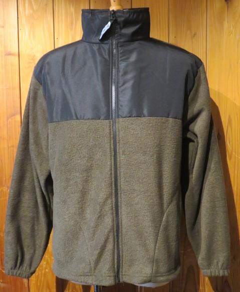 MADE IN 特別セール品 USA フリースジャケット オリーブ 送料無料 結婚祝い Mサイズ