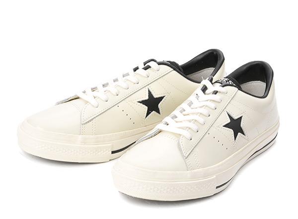 【converse】 コンバース ONE STAR(A) OX ワンスター オックス ABC-MART限定 WHITE/BLACK