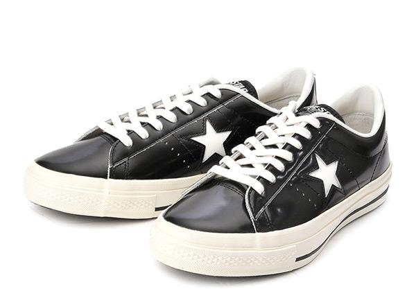 【converse】 コンバース ONE STAR(A) OX ワンスター オックス ABC-MART限定 BLACK/WHITE