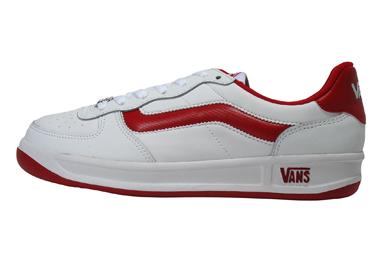 旅行车低切运动鞋人低切运动鞋V4100 WHT/RED(EL2)