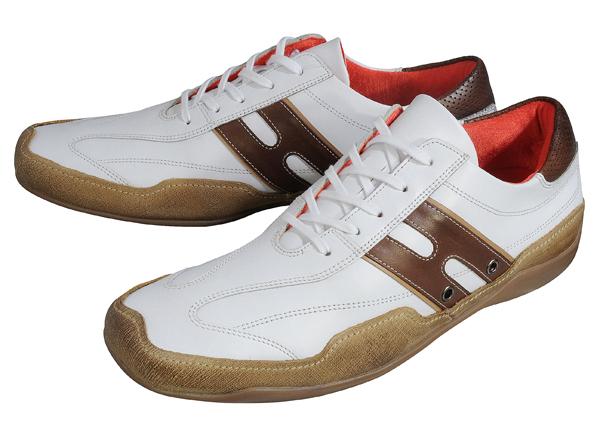 Hawkins town shoes GT8202N white / Brown