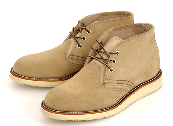 【RED WING】レッドウィング メンズブーツ ワークブーツ CLASSIC CHUKKA(クラシック チャッカ) 3143N MOHAVE_SAND