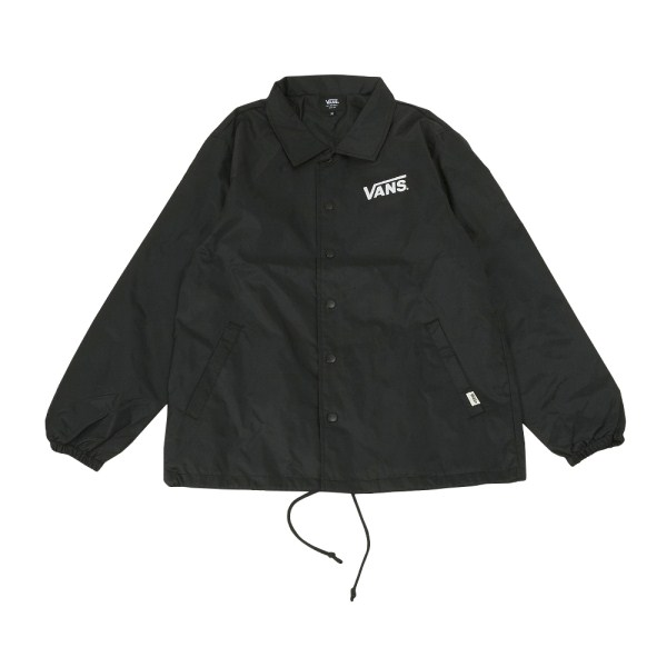 【VANSアパレル】 ヴァンズ ジャケット Flying-V Coach JKT CD17FW-MJ03 17FA BLACK