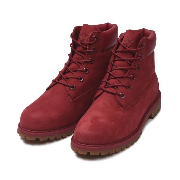 レディース 【Timberland】 ティンバーランド W'S 6 INCH PREMIUM BOOT ウィメンズ 6インチ プレミアム ブーツ A13HV RED 17FA