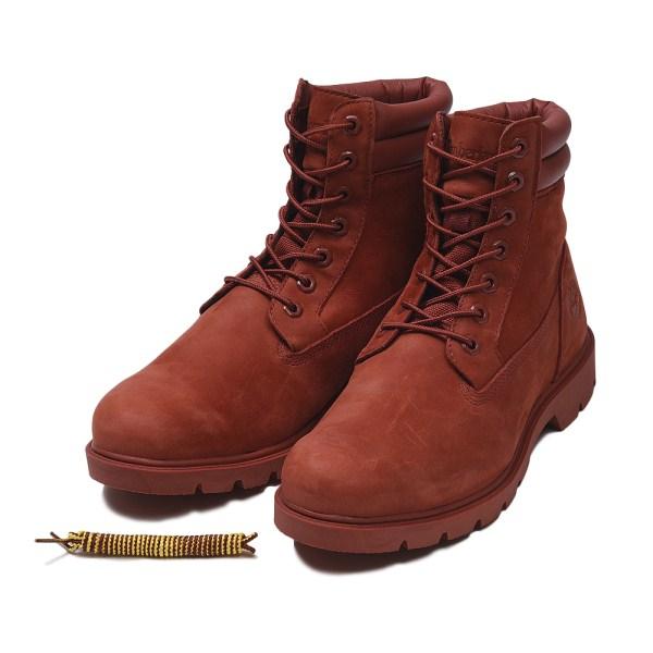 【Timberland】 ティンバーランド YOUTH 6 INCH BASIC BOOT ユース 6インチ ベーシック ブーツ A1OTD *RED 17FA