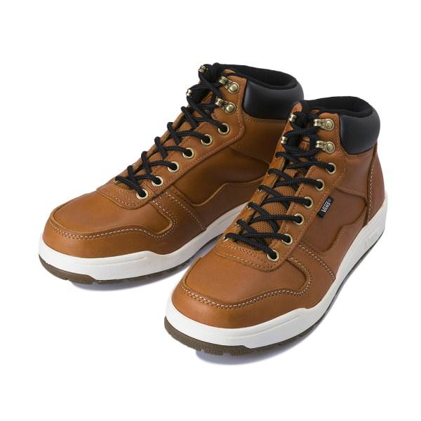 【VANS】 ヴァンズ WORKER BEE V2552SNOW 冬靴 FG/BROWN
