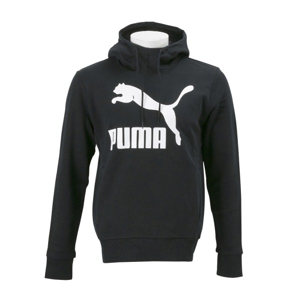 【PUMA ウェア】 プーマ パーカー M ARCHIVE ロゴ フーディ スウェット 574933 01PUMA BLACK
