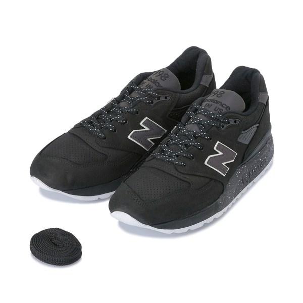 【NEW BALANCE】 ニューバランス M998ABK(D) 17FW BLACK(ABK)
