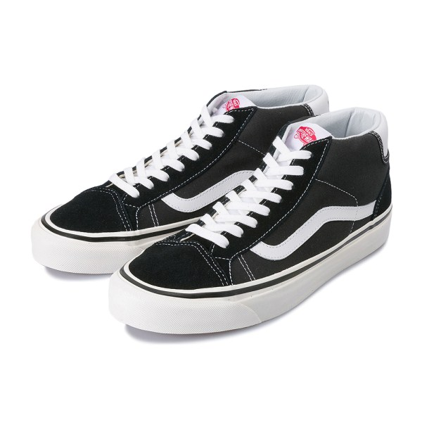 【VANS】 MID SKOOL 37 DX ヴァンズ ミッドスクール 37 DX VN0A3MUOQF6 18SP (ANAHEIM)BLACK