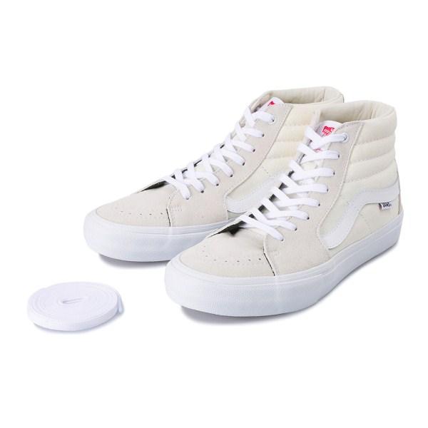 【VANS】 SK8-HI PRO ヴァンズ スケートハイ プロ VN0A347TWHT 18SP WHITE