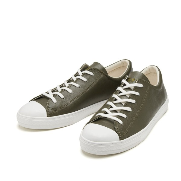 【CONVERSE】 コンバース ALL STAR COUPE LEATHER OX オールスター クップ レザー オックス 32149054 OLIVE
