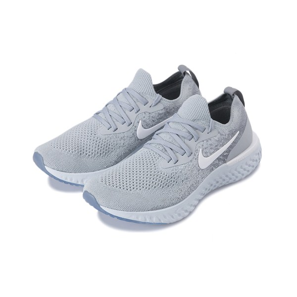 【NIKE】 ナイキ EPIC REACT FLYKNIT エピック リアクト フライニット MAQ0067 002WGRY/WT CGRY