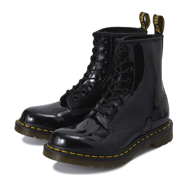 【AIRWAIR】 ドクターマーチン 1460 W PATENT 8 EYE BOOT 11821011 BLACK PATENT