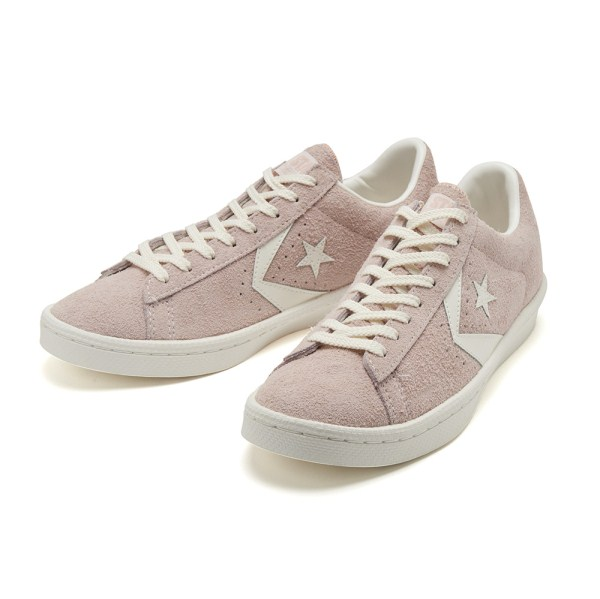 【CONVERSE】 コンバース PRO-LEATHER SUEDE OX プロレザー スエード オックス 32755502 PINK