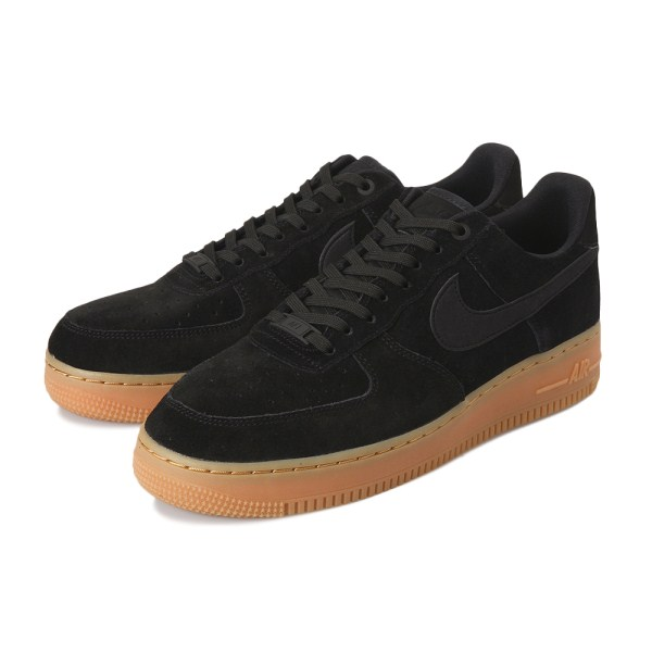 【NIKE】 ナイキ AIR FORCE 1 '07 LV8 SUEDE ナイキ エア フォース 1 07 LV8 スエード AA1117-001 001BLACK/BLACK