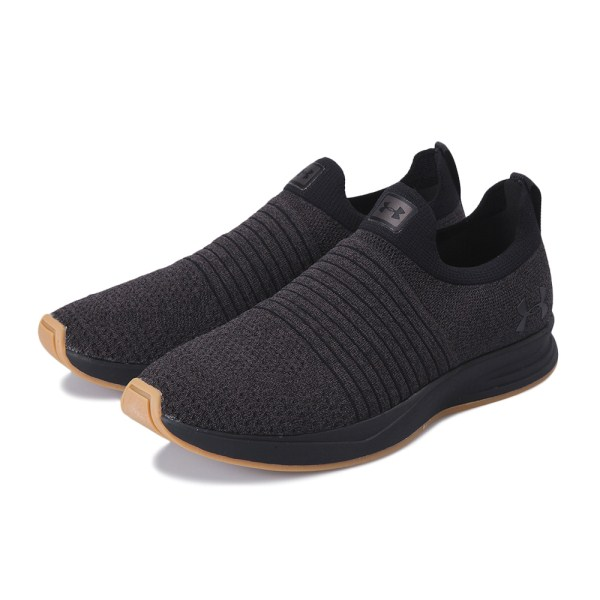 【UNDER ARMOUR】 アンダーアーマー Charged Covert X Laceless 3020912 003 BLK/CHC/BLK