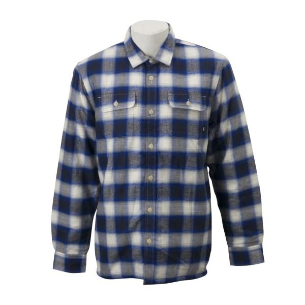 【VANSウェア】LOOMIS ヴァンズ フランネルシャツ VN0A3HW2WV0 18HO NATURAL-DRESS B
