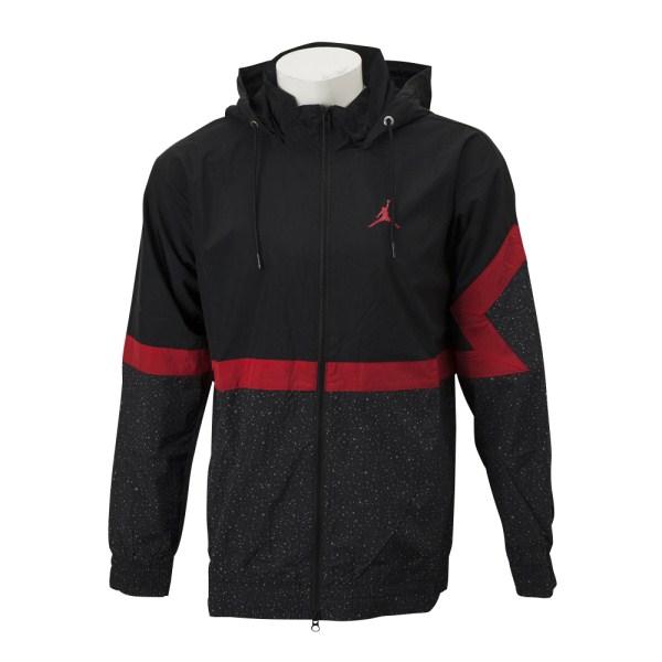 【NIKEウェア】 ナイキウェア M AJ ダイアモンド セメント ジャケット AR3242-010 010BLACK/RED