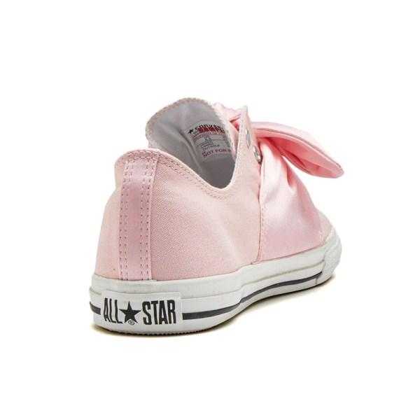 Lady's Converse ALL STATR S SATINRIBBON SLIP OX all stars S ?????????????? 32893272 PINK