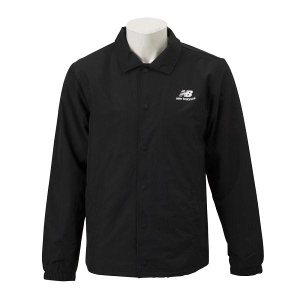 【NEW BALANCEウェア】 ニューバランスウェア M クラシックコーチスタックドジャケット AMJ91521BK BK(ブラック)