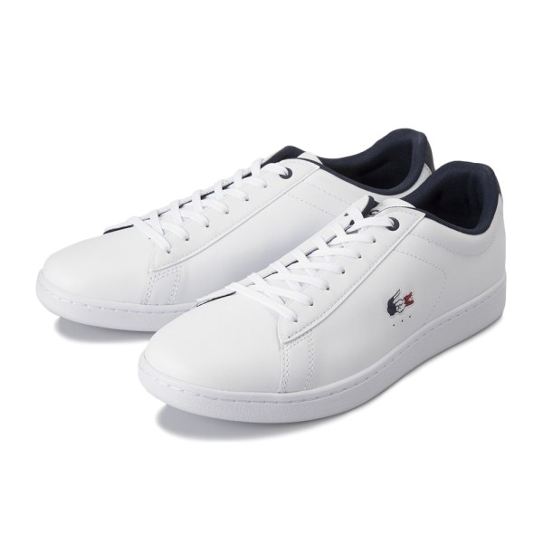 【LACOSTE】 ラコステ CARNABY EVO カーナビー エヴォ 119 7 SMA0013 407 WHT/NVY/RED