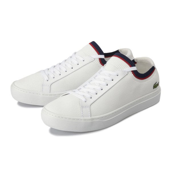 【LACOSTE】 ラコステ LA PIQUEE 119 1 CMA0038 407 WHT/NVY/RED