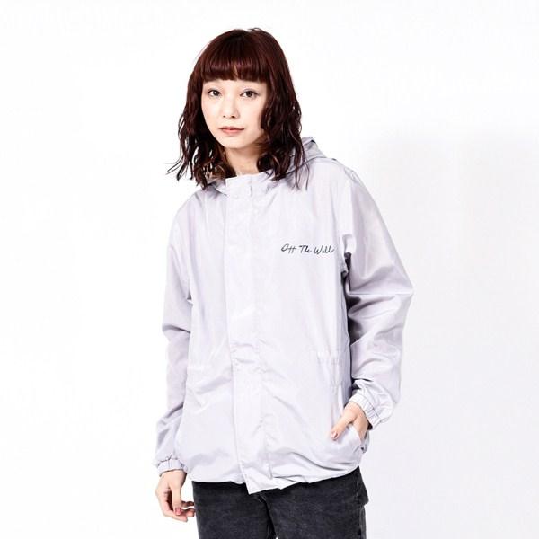 【VANSウェア】VANS Girls Skeleton Jacket ヴァンズ ジャケット VA19SS-GJ03 19SP L-GRAY