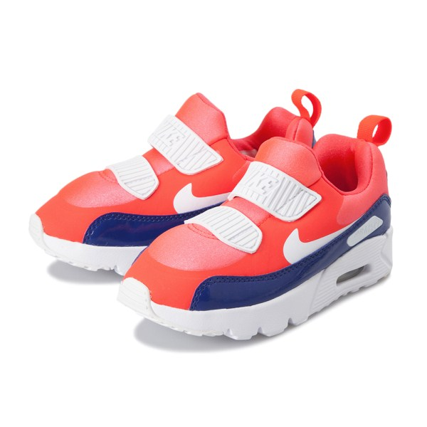 Kids Nike AIRMAX TINY 90 (PS) 17 22 Air Max Thailand knee 881,927 604 604BRTCRMWHITE