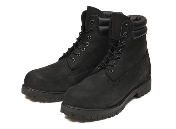 6インチキャンペーン 【Timberland】 ティンバーランド 6 IN DOUBLE COLLAR BOOT 6インチ ダブルカラー ブーツ 73541 ABC-MART限定 BLACK