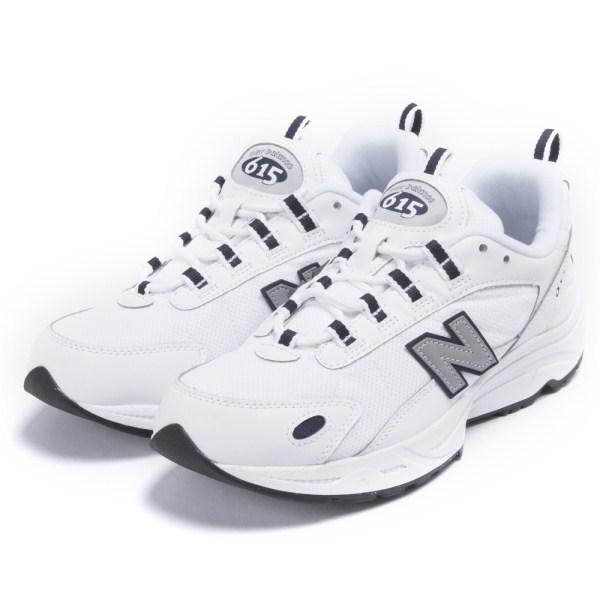 【NEW BALANCE】 ニューバランス ML615NRT(D) 白い/NAVY(NRT)