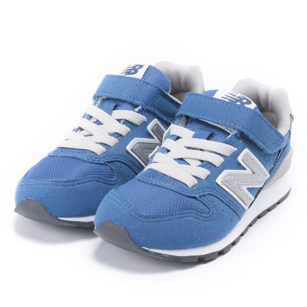キッズ 【NEW BALANCE】 ニューバランス YV996CBL (17-22) BLUE(CBL)