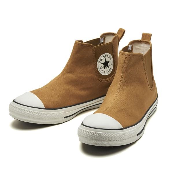 【CONVERSE】 コンバース ALL STAR WR SIDEGORE HI オールスター WR サイドゴア ハイ 31300630 LITEBROWN