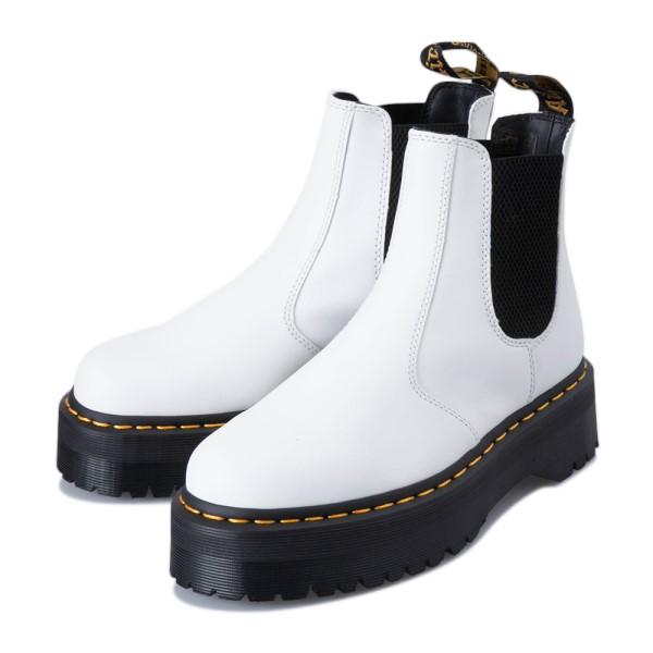 【Dr.Martens】 ドクターマーチン 2976 QUAD CHELSEA BOOT 2976 クアッド チェルシー ブーツ 25055100 WHITE