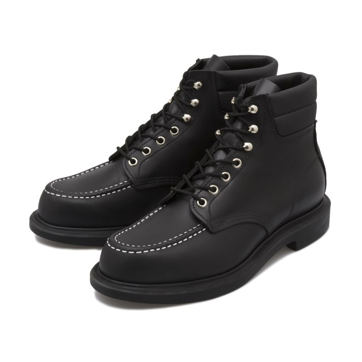 【RED WING】 レッドウィング SUPERSOLE 6' MOC-TOE スーパーソール 6インチ モックトゥ 8133 (E) BLACK CHROME