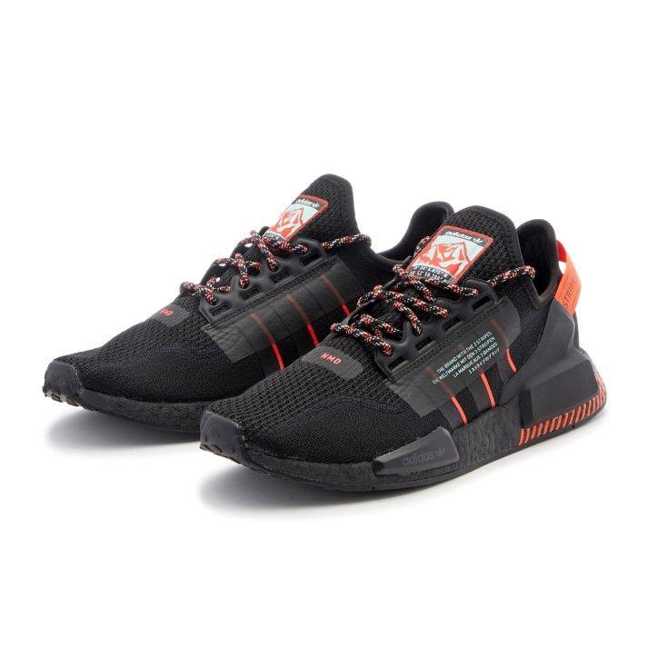 【adidas】 アディダス NMD_R1.V2 エヌエムディー FW6409 BLK/BLK/RED