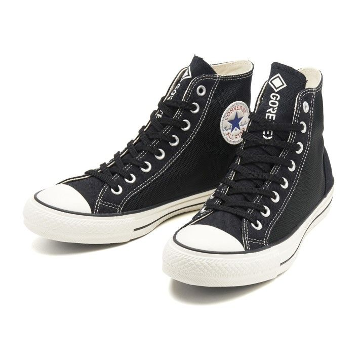 【CONVERSE】 コンバース ALL STAR 100 GORE-TEX TN HI オールスター 100 ゴアテックス TN ハイ 31301421 BLACK 4 BLACK