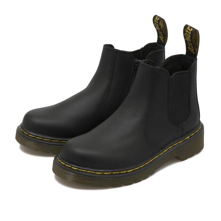キッズ 【Dr.Martens】 ドクターマーチン キッズ ブーツ JUNIOR CHELSEA BOOT (17-21) チェルシー ブーツ 16708001 BLACK