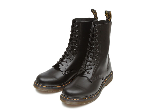 Dr. Martens 1490 DMC BLACK SMOOTH 10-hole boots 11857001 BLACK/ABC-Mart Rakuten Ichiba