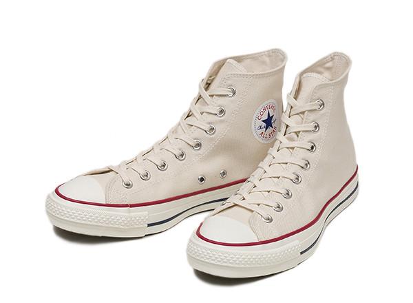 [日本製] 【converse】 コンバース CANVAS ALL STAR J HI キャンバス オールスター J ハイ 14FW N.WHITE