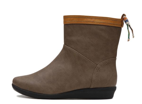 【NUOVO】 ヌオーヴォ バックテープレインブーツ 長靴 NC20014 B-TAPE RAIN 3 ヒール3cm OAK