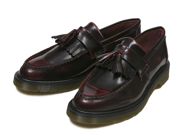 【AIRWAIR】 ドクターマーチン ADRIAN TASSELE LOAFER 14573601 15SP CHERRY RED