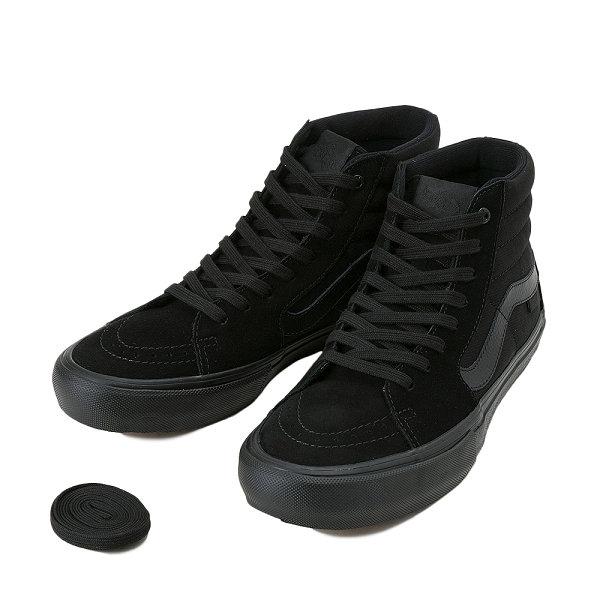 【靴】 ハイカット スケート シューズ ブラック バンズ/ キャンバス スウェード スエード SK8-HIスケートハイ (BLACK) 【メンズ】 スニーカー 【レディース】 【VANS】