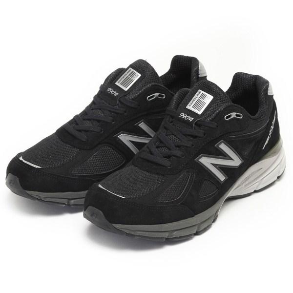 【NEW BALANCE】 ニューバランス [USAモデル] M990BK4 BLACK(BK4)