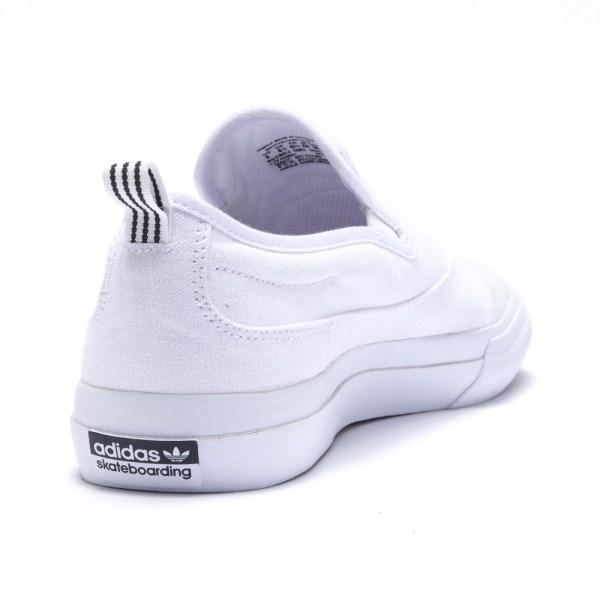 【ADIDAS】 アディダススケートボーディング MATCHCOURT SLIP マッチコート スリップ F37386 WTH/WTH/WTH