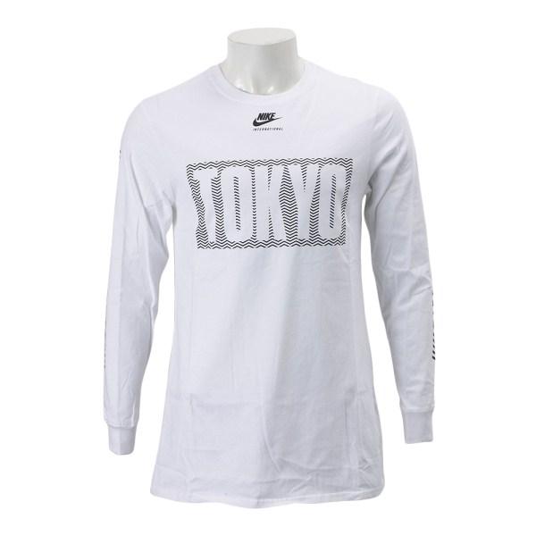 NIKE SPORTSWEAR(ナイキスポーツウェア) メンズ インターナショナル TOKYOトップ 831142-100 SP17 100WHT