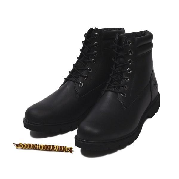 【Timberland】 ティンバーランド YOUTH 6 INCH BASIC BOOT ユース 6インチ ベーシック ブーツ A1OT6 *BLACK 17FA
